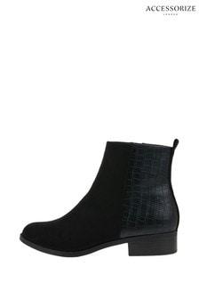 Accessorize Black Chelsea Boots