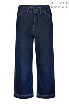 Oliver Bonas Jeans-Hosenrock, Blau