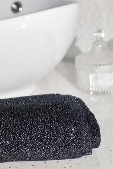 Handdoek met glitters
