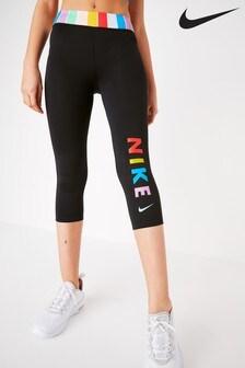 Nike Candy Stripe Capri Leggings