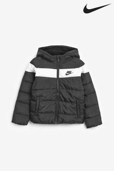 Nike Daunenjacke für Kleinkinder, schwarz
