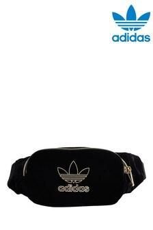 Бархатная поясная сумка adidas Originals