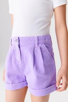 Джинсовые шорты (3-16 лет)