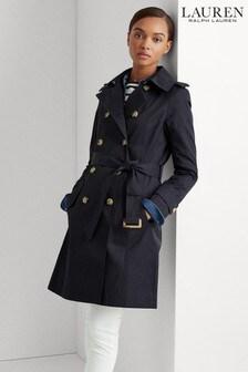 Lauren Ralph Lauren® Dark Navy Short Trench Coat