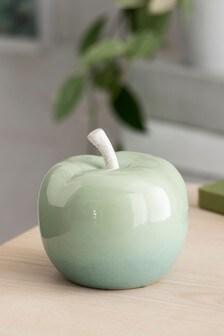Ceramic Apple Ornament (248163)   $9