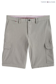Tommy Hilfiger Grey Tailored Cargo Shorts