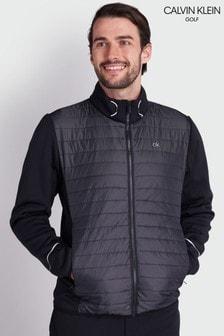 Calvin Klein Golf Black Wrangell Hybrid Jacket (248546)   $138