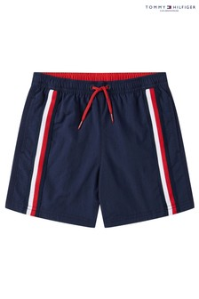 Tommy Hilfiger Blue Core Signature Medium Drawstring Trunks
