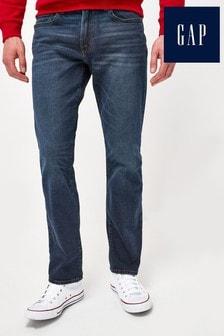 Gap Dark Wash Straight Leg Jeans
