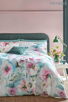 Voyage Pink Isabella Duvet Cover and Pillowcase Set