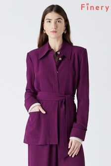 Finery Rowley Purple Jacket