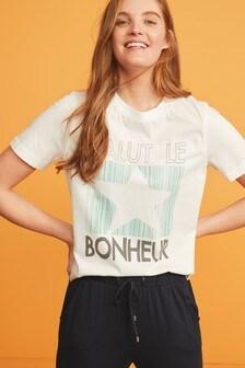 T-shirt Easy z okrągłym dekoltem