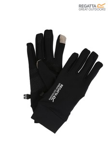Regatta Black Touchtip Stretch Gloves