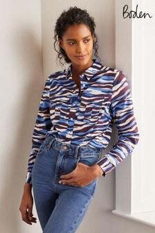 Кремовая рубашка Boden Faye