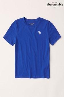Modré tričko Abercrombie & Fitch