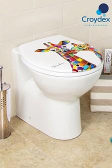 Croydex Francie & Josie Giraffe Toilet Seat