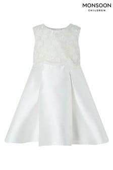 Monsoon Ivory Baby Anika Dress
