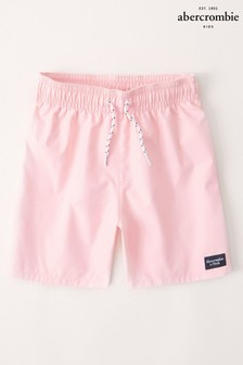Abercrombie & Fitch Pink Swim Shorts