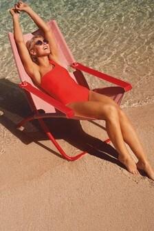 Emma Willis One Shoulder Swimsuit