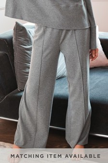 Fleece Lounge Wide Leg Trousers