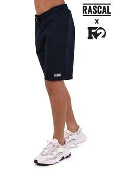 Темно-синие базовые шорты Rascal