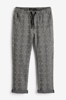 Pantalon à carreaux à enfiler (3-16 ans)