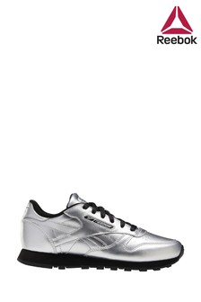 Reebok Silver Classic Trainers
