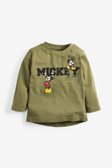 Mickey Mouse™ Long Sleeve Jersey T-Shirt (3mths-8yrs)