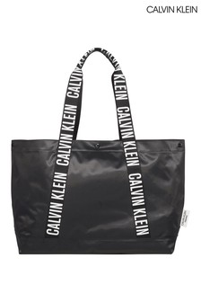 Calvin Klein Black Intense Power Beach Tote Bag