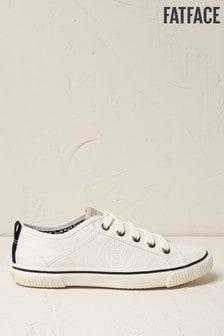 FatFace Organic Sneaker zum Schnüren, weiß