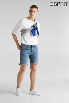 Esprit Denim-Shorts, Blau