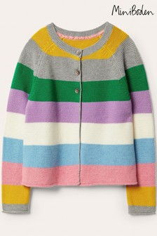 Boden Multi Cotton Cashmere Mix Cardigan