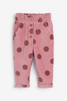 Вельветовые брюки (3 мес.-7 лет)