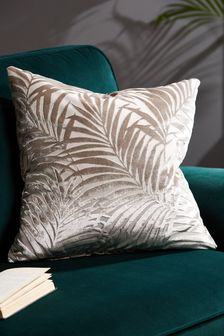 Palm Velvet Cushion