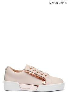 Michael Kors Pink Frill Trainers