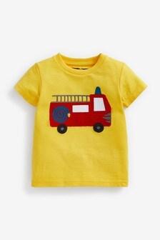 Short Sleeve Appliqué T-Shirt (3mths-7yrs)