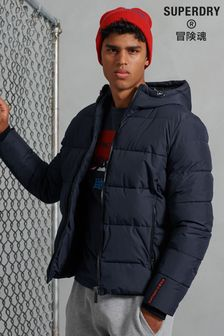 Superdry Navy Sports Padded Jacket
