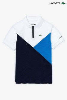 Lacoste® Kinder Poloshirt in Blockfarben