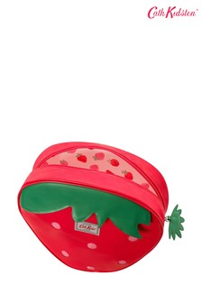 Cath Kidston® Red Solid Kids Medium Novelty Strawberry Backpack