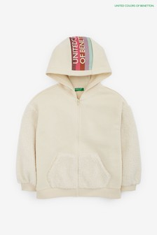 Benetton Cream Hoody