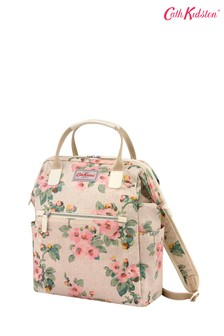 Cath Kidston® Cream Mayfield Blossom Heywood Frame Backpack