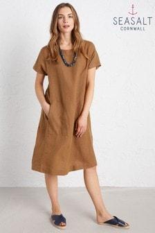 Seasalt Brown Primary Dress