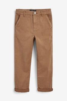Pantalon chino large (3-16 ans)