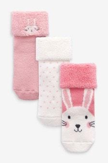 Набор из 3 пар махровых носков (Младшего возраста)