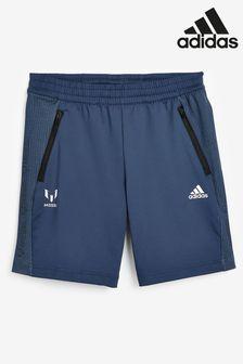 Темно-синие шорты adidas Messi