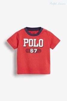 Ralph Lauren Red Polo T-Shirt