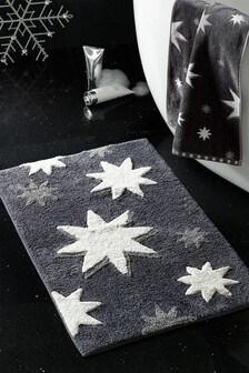 Sparkle Star Bath Mat