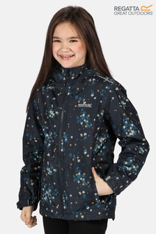 Regatta Blue Brina Waterproof Jacket