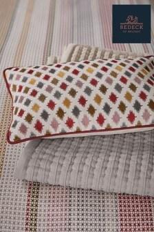 Bedeck of Belfast Nukku Printed Geo Piped Cushion