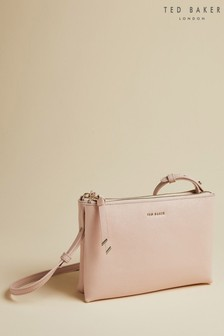 Ted Baker Pink Deenah Leather Small Cross Body Bag